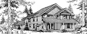 Lodge Style Home