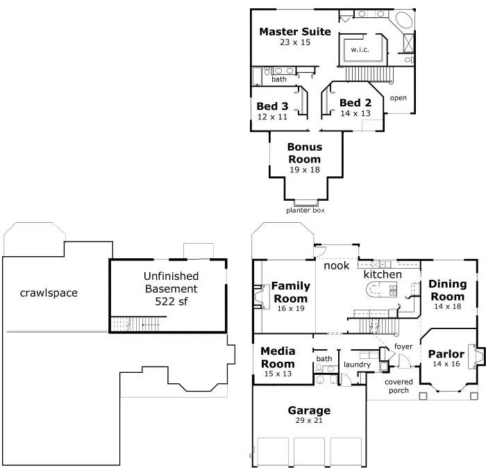 House Plan 3528 Laurelwood Iv By Nash Associates
